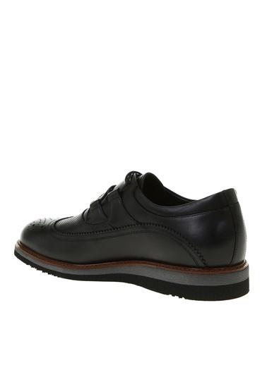 Greyder Greyder Deri Günlük Ayakkabı 0Y1Ra63345 Siyah